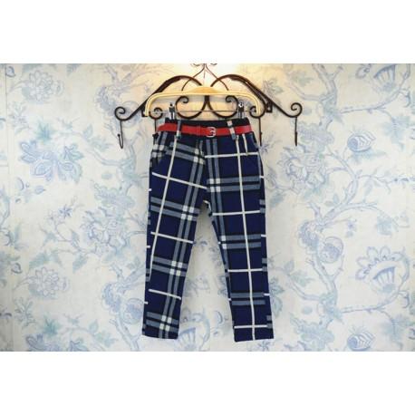 Pantaloni in carouri